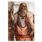 Plato Education: Large Poster