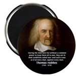 Thomas Hobbes: War 2.25&quot; Magnet (10 pack)