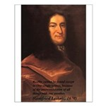 Gottfried Leibniz Metaphysics Small Poster