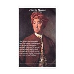 David Hume Philosophy Rectangle Sticker