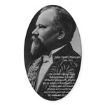 Poincare: Nature Science Oval Sticker