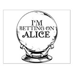 Betting On Alice Small Poster