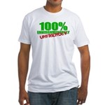 100% Environmentally Unfriend Fitted T-Shirt