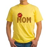 New Mom Mother First Time Yellow T-Shirt