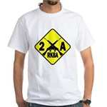 Second Amendment Zone White T-Shirt