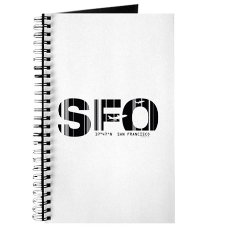 San Francisco SFO Airport Code Journal