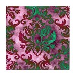 Jewel Damask Tile Coaster
