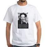 de Broglie: Quantum Waves White T-Shirt