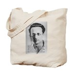 Erwin Schrodinger One Reality Tote Bag