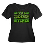 It's a Celebration Bitches Shamrock Women's Plus S