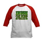 Irish Car Bomb Team Shamrock Kids Baseball Jersey