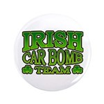 "Irish Car Bomb Team Shamrock 3.5"" Button (100 pack"