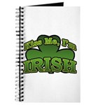 Kiss Me I'm Irish Shamrock Journal
