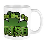 Kiss Me I'm Irish Shamrock Mug