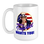 Uncle Infidel Wants You Large Mug
