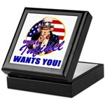 Uncle Infidel Wants You Keepsake Box