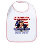 Uncle Sam Anti Terrorist Bib
