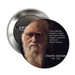 "Charles Darwin: Evolution 2.25"" Button (10 pack)"