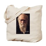 Charles Darwin: Evolution Tote Bag