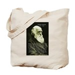 Charles Darwin: Science Tote Bag