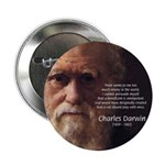 "Charles Darwin: God Creation 2.25"" Button (10 pack"