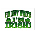 I'm Not White I'm Irish Postcards (Package of 8)