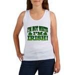 I'm Not White I'm Irish Women's Tank Top