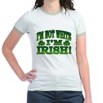 I'm Not White I'm Irish Jr. Ringer T-Shirt