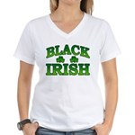 Once You go Irish You Never Go Back Women's V-Neck