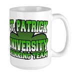 St. Patrick University Drinking Team Large Mug