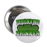 "Designated Drinker 2.25"" Button (100 pack)"