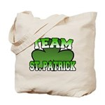 Team St. Patrick Tote Bag