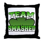 Team Smashed Throw Pillow