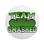 Team Smashed Ornament (Round)