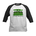 Team Drunk Kids Baseball Jersey