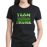 Team Drunk Women's Dark T-Shirt