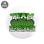 "Team Leprechaun 3.5"" Button (10 pack)"