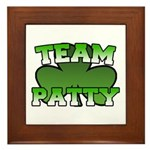 Team Patty Framed Tile