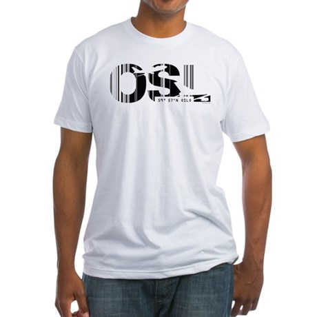 Oslo Norway OSL Air Wear Fitted T-Shirt
