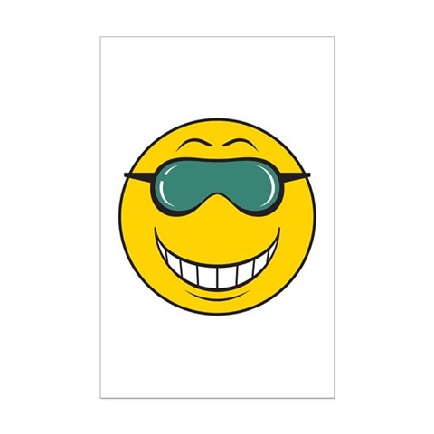 emotions poster faces. Cool Dude Smiley Face Posters