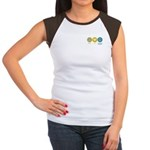 Peace Love Occupational Therapy Women's Cap Sleeve