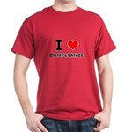I (heart) Compliance Dark T-Shirt
