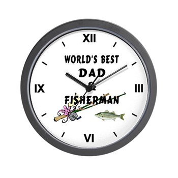 World's Best Dad Wall Clock
