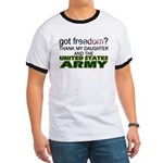 Got Freedom? Army (Daughter) Ringer T