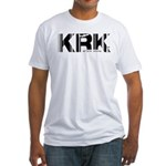 Krakow KRK Poland Airport Fitted T-Shirt