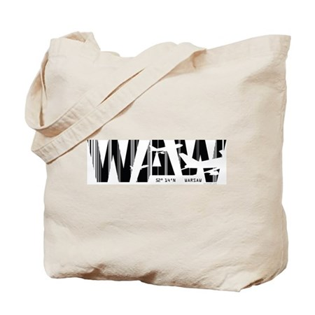 Warsaw WAW Poland Air Wear Tote Bag