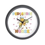 Bee Pediatric Nurse Wall Clock