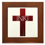 INRI Cross Framed Tile