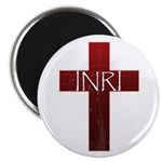 "INRI Cross 2.25"" Magnet (10 pack)"