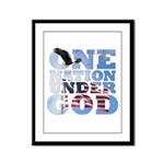 """One Nation Under God"" Framed Panel Prin"